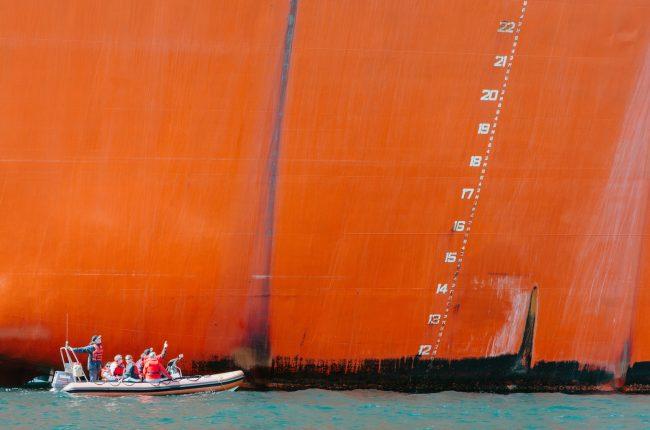 Oceaan olie tanker