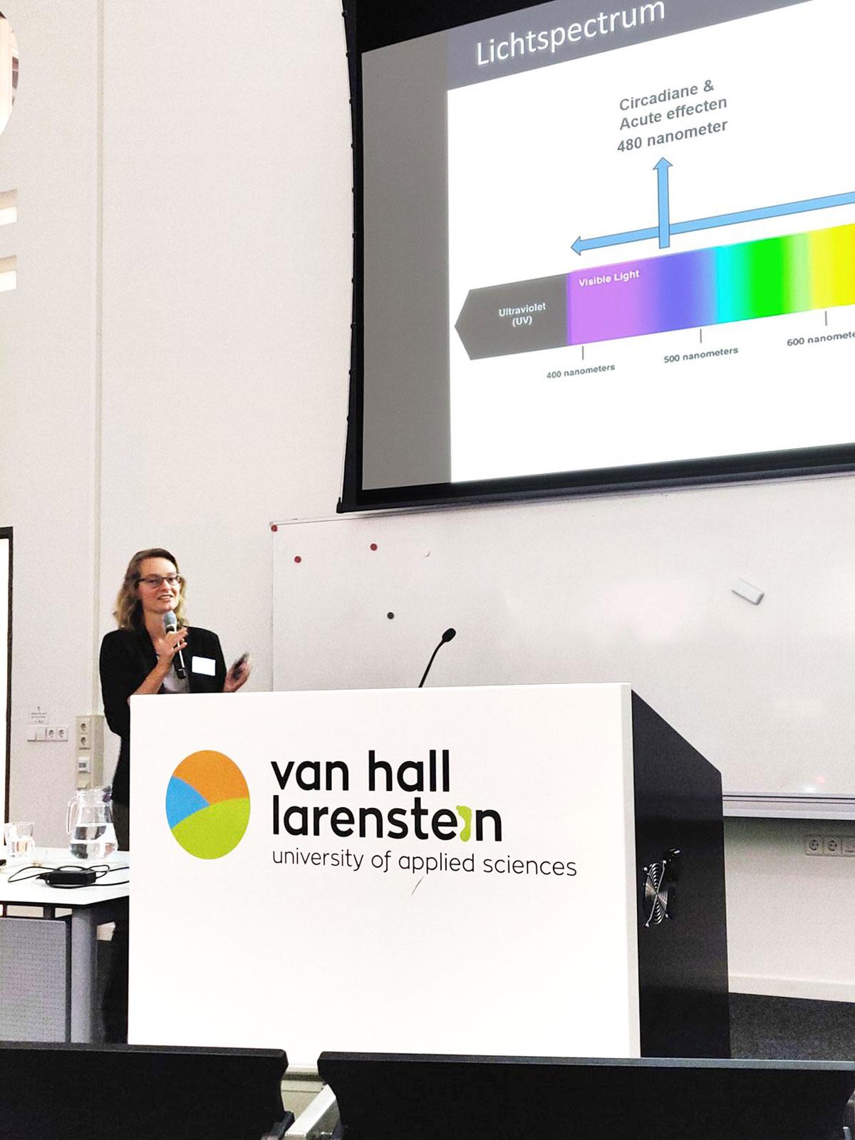 Laura Huiberts lezing lichtblootstelling